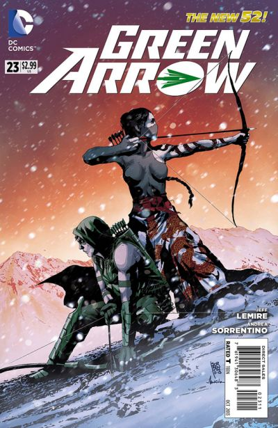 Green Arrow #23 cover