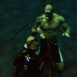 Guardians of the Galaxy - Behind the Scenes - Drax (Dave Bautista) underwater