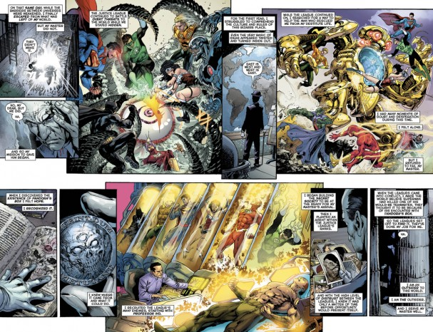 Justice League #23 - Preview #3