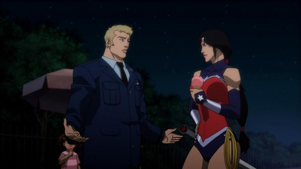 Justice League: War - Wonder Woman and Steve Trevor