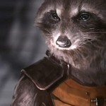 Rocket Raccoon concept art for Guardians of the Galaxy film