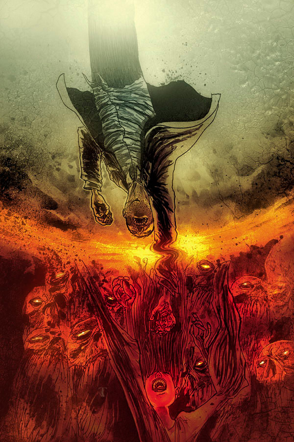 Ten Grand #4 (Image Comics) - Artist: Ben Templesmith