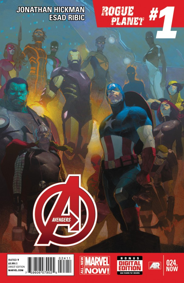 Avengers 24.NOW Cover