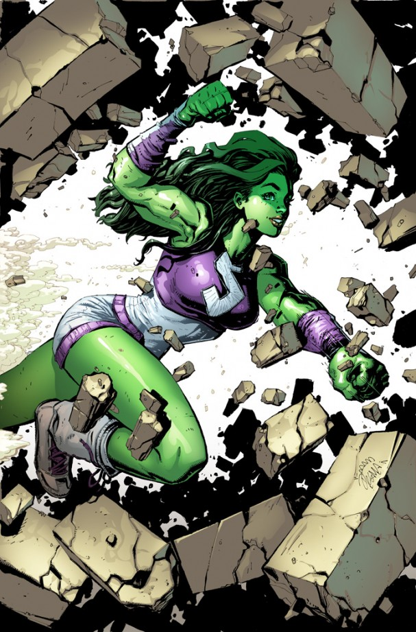 She Hulk #1 (Marvel Now) Stegman Variant