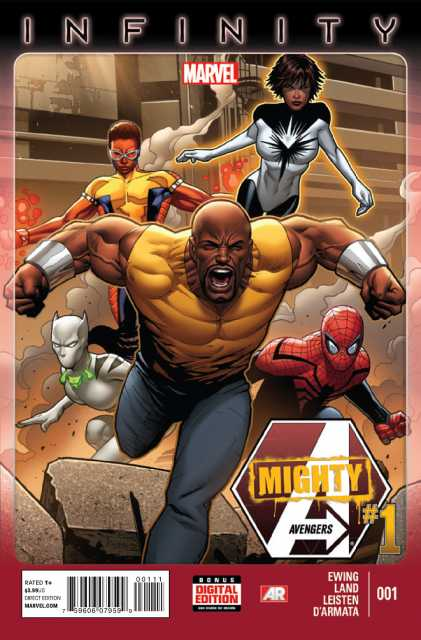 Mighty Avengers #1 cover