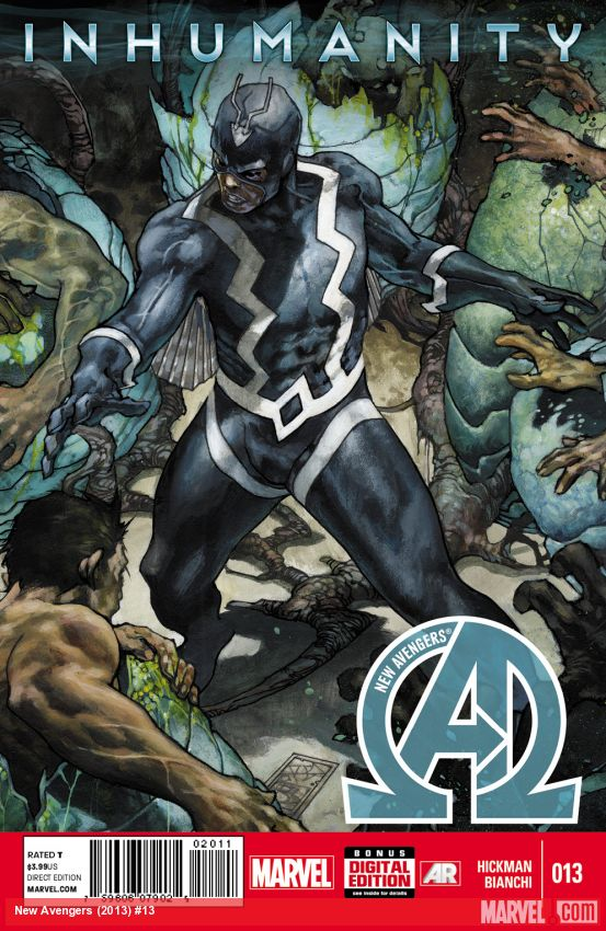 New Avengers: 13.INH Inhumanity