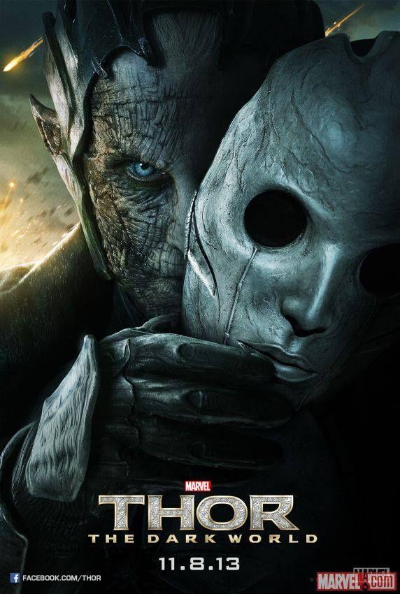 Thor: The Dark World Malekith poster