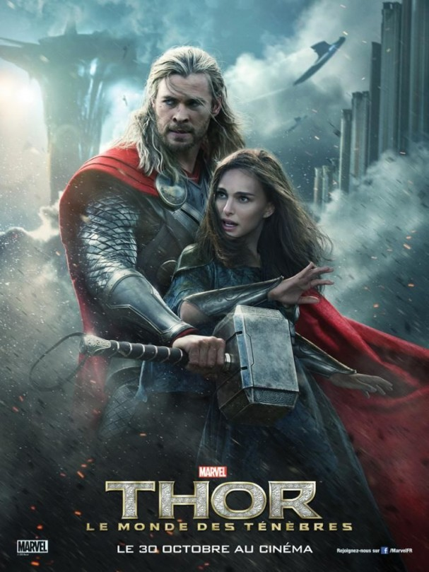 Thor: The Dark World International poster