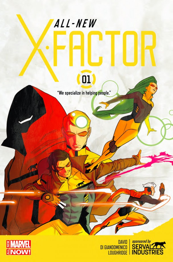 All New X-Factor #1 - All-New Marvel NOW!