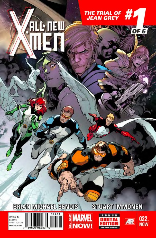 All New X-Men Trial of Jean Grey #1 - All-New Marvel NOW!