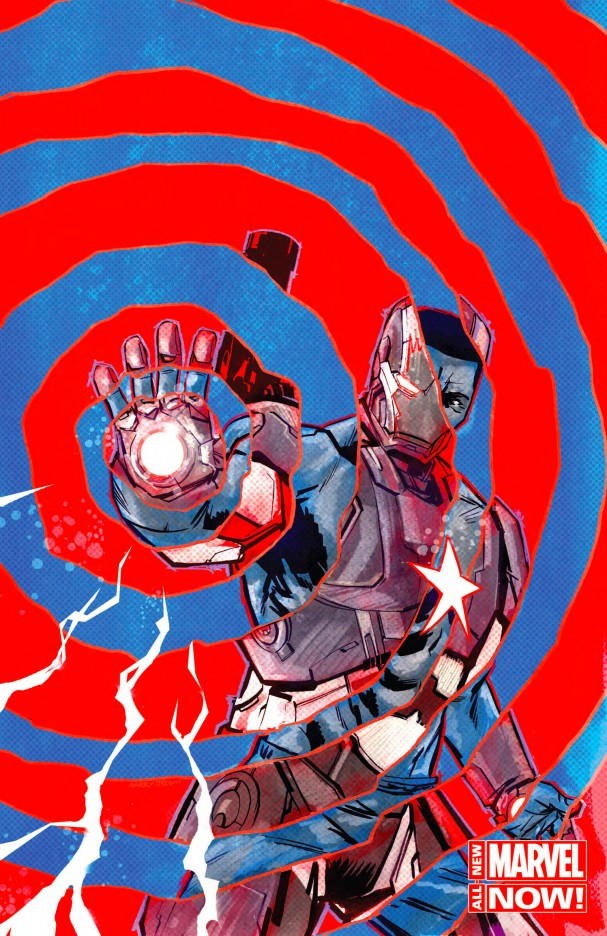 Iron Patriot #1 - All-New Marvel Now