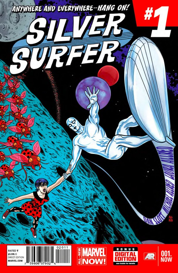Silver Surfer #1 - All-New Marvel Now