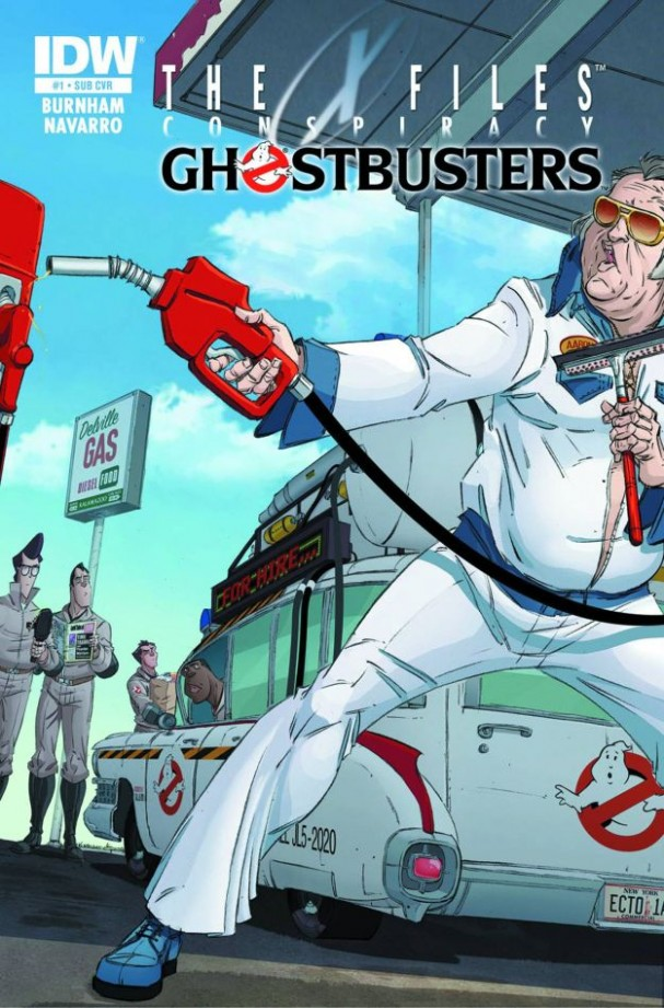 The X-Files: Conspiracy: Ghostbusters (Elvis Subscription Variant)