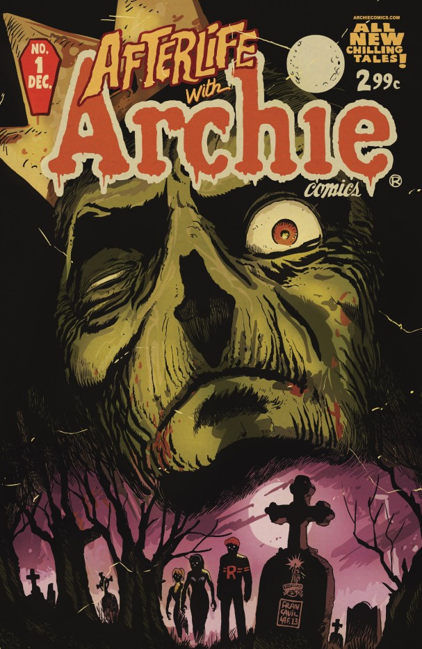 Afterlife with Archie #1 (Archie Comics) - Artist: Francesco Francavilla