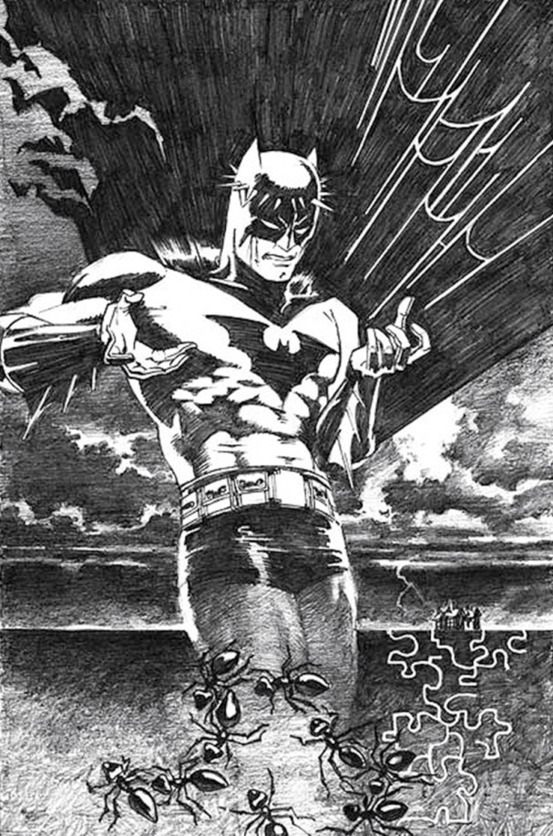 Batman: Black and White #2 (DC Comics) - Artist: Jim Steranko