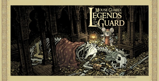 "Mouse Guard: Legends of The Guard"" #4 (Archaia) - Artist: David Petersen"