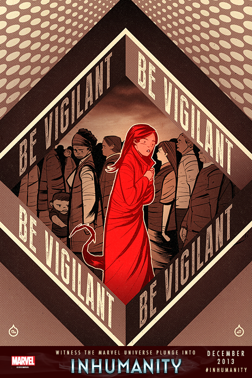 Be Vigilant - Inhumanity (Marvel)