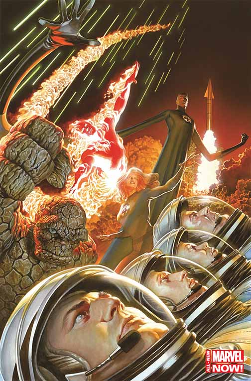 Fantastic Four #1 (Alex Ross 75th anniversry cover)