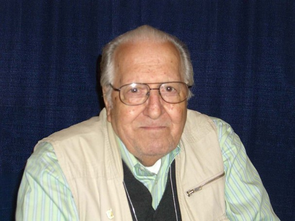 Nick Cardy in 2008. Photo by Luigi Novi