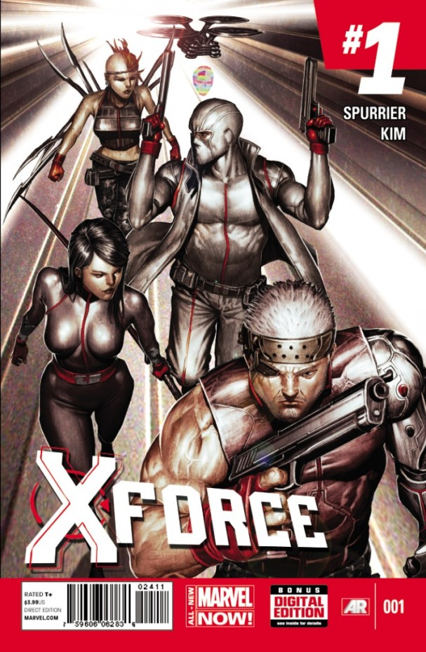 All-New X-Force #1 cover