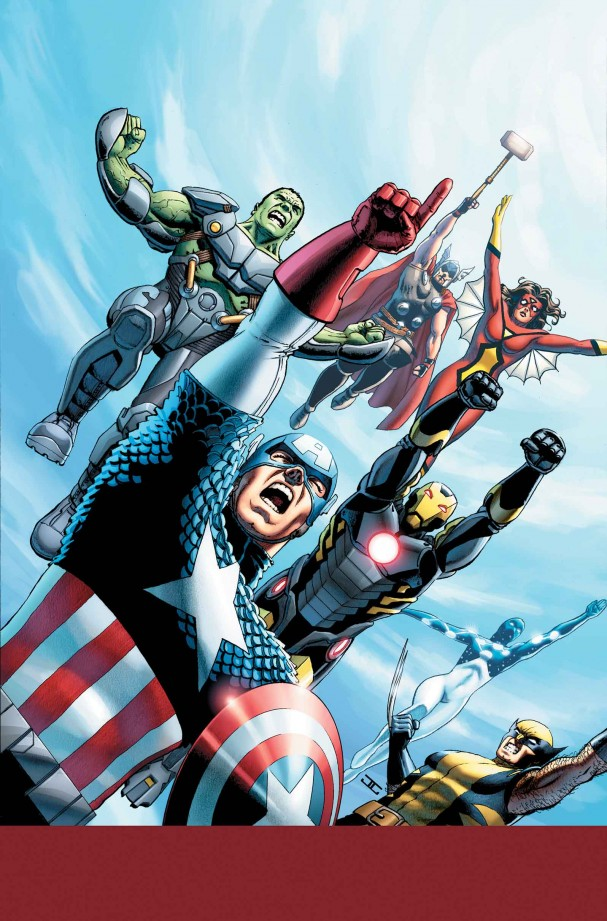 Avengers World #1 cover