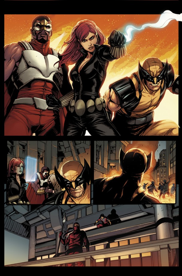 Avengers World #1 Preview 2