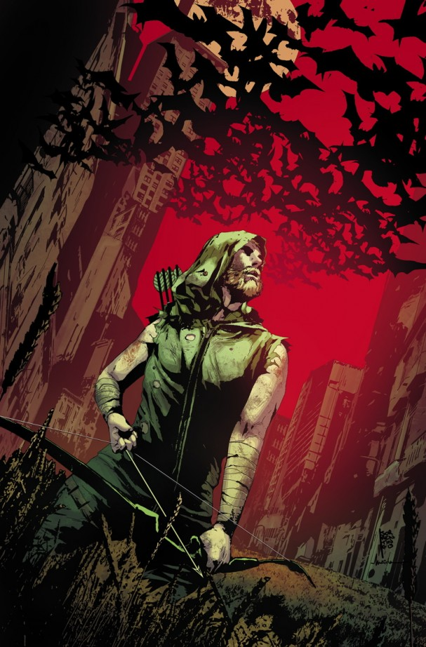 Green Arrow #25 (DC Comics) - Artist: Andrea Sorrentino