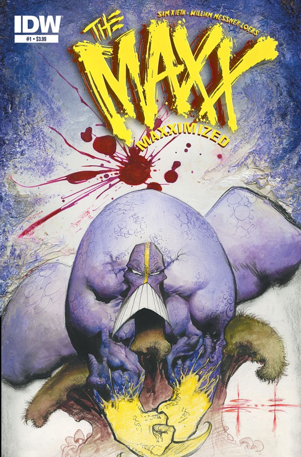 The Maxx: Maxximized #1 (IDW) - Artist: Sam Kieth