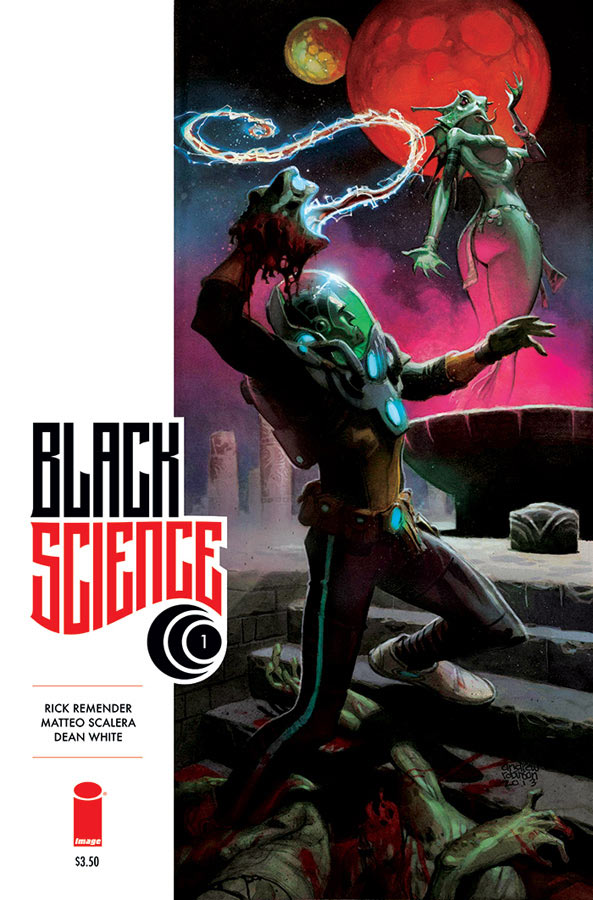 Black Science #1 (Image Comics) - Artist: Andrew Robinson