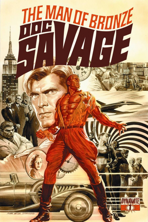 Doc Savage #1 (Dynamite) - Artist: Alex Ross