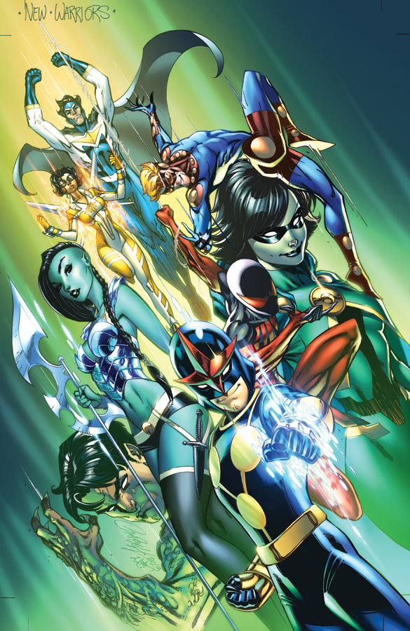 New Warriors (2014) #1 - J. Scott Campbell
