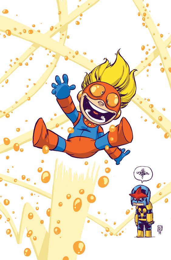 New Warriors (2014) #1 - Skottie Young