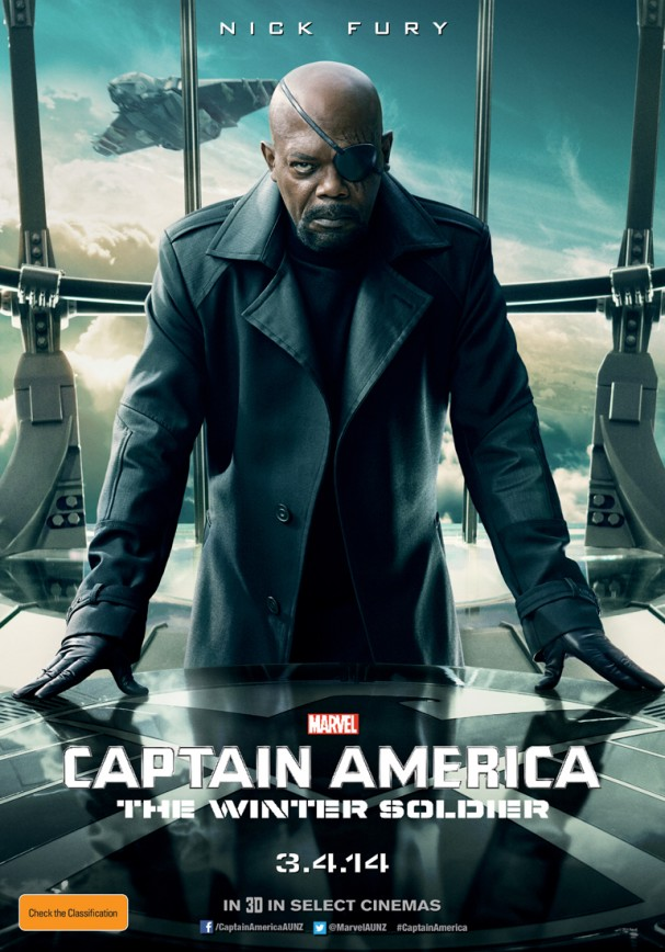 Nick Fury poster - Captain America: The Winter Soldier