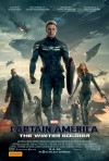 Captain America: The Winter Soldier poster (Australia)
