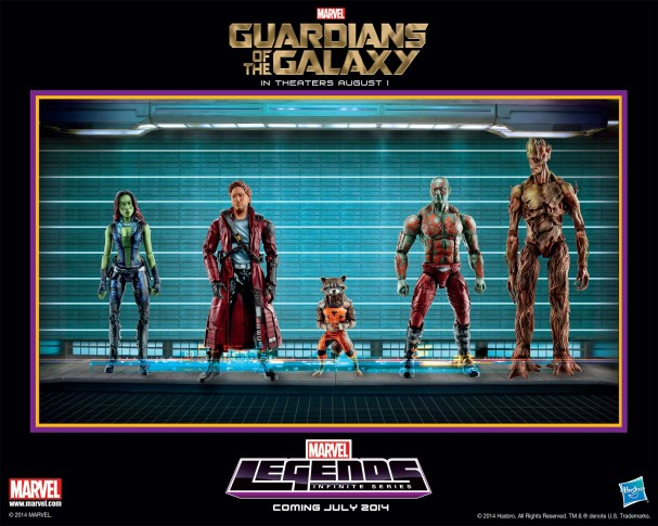 Guardians of the Galaxy - Action Figures (Hasbro, 2014)