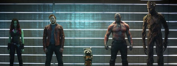 Marvel's Guardians Of The Galaxy Lineup