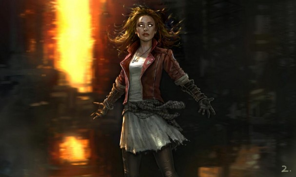 Scarket Witch - Avengers: Age of Ultron concept art