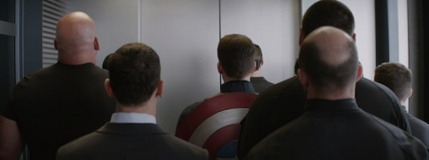 Captain America: The Winter Soldier - Elevator