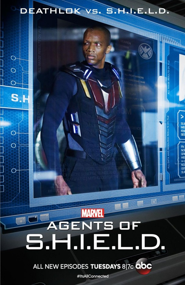 Deathlok poster - Agents of SHIELD