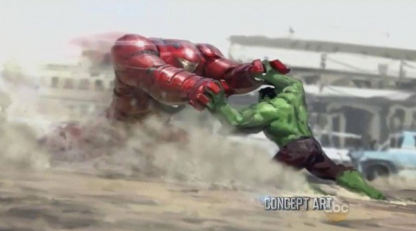 Hulkbuster - Avengers: Age of Ultron concept art