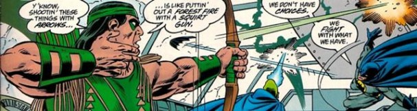 Green Arrow of Earth-D in Legends of the DC Universe: Crisis on Infinite Earths
