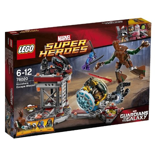 Lego Marvel Super Heroes Rocket Raccoon Weapons: rocket raccoon,