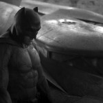 Ben Affleck as Batman and the Batmobile in 'Superman vs Batman'