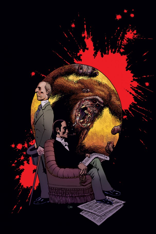 Edgar Allan Poe's Morella and the Murders in the Rue Morgue (Dark Horse) - Artist: Richard Corben