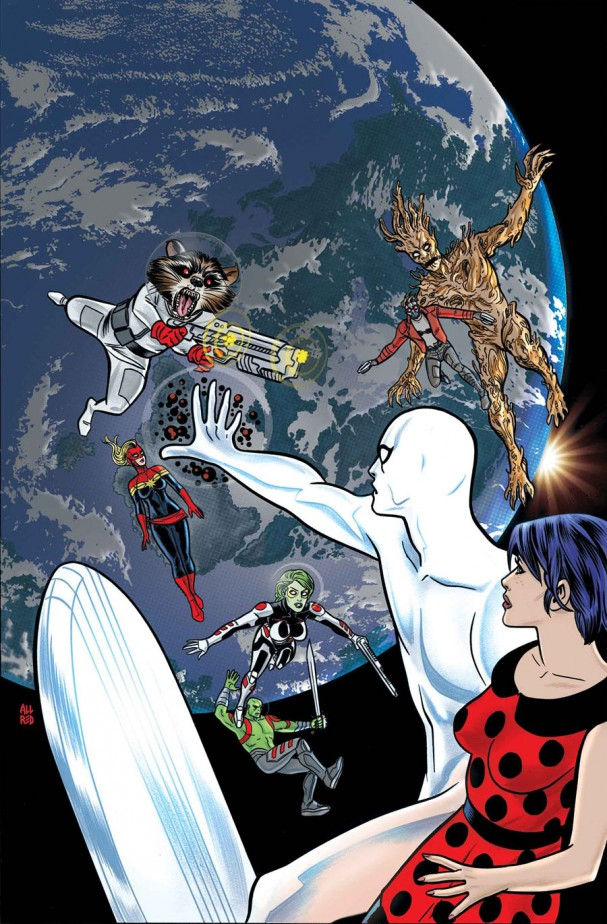 Silver Surfer #4 (Marvel) - Artist: Mike Allred