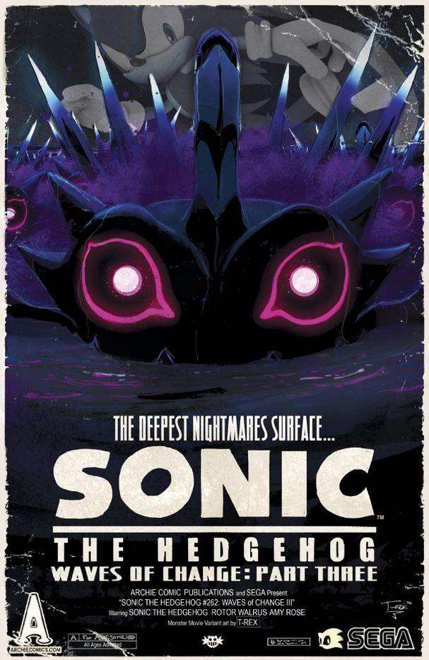 Sonic the Hedgehog #252 (Archie Comics) - Artist: Tristan 'T-Rex' Jones