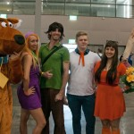 Supanova 2014 - Sydney cosplay - Scooby Gang and Shaun of the Dead