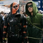 Supanova 2014 - Sydney cosplay - Arrow and Deathstroke