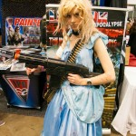 Supanova 2014 - Sydney cosplay - Cinderella at the Zombie Apocalypse