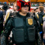 Supanova 2014 - Sydney cosplay - Judge Dredd